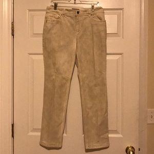 🎄🆕CHICOS SO SLIMMING CREAM Jeans CHICOS 1 (M/8)